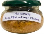 Pork Pate with Shallots  - handmade