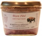 Bison Pate with Fried Onions 180g jar