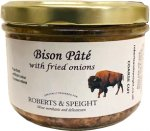 Bison Pate with Fried Onions