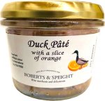 Duck Pate with a slice of Orange