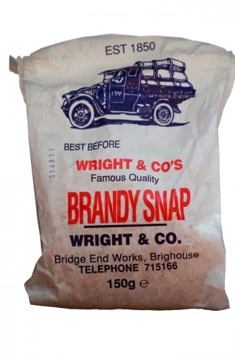 Wright & Co, Brandy Snap Curls 150g