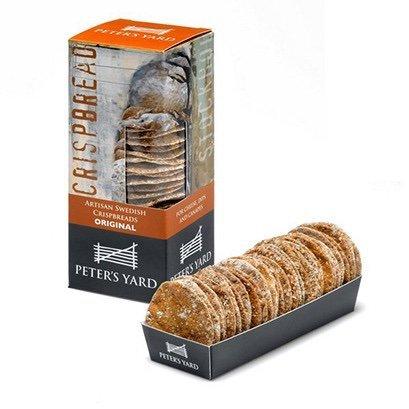 Peter's Yard Mini Crispbread: Original - 105g box