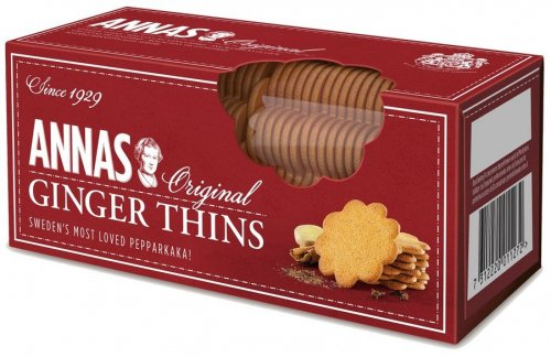 Anna's Original Thins : Ginger Thins